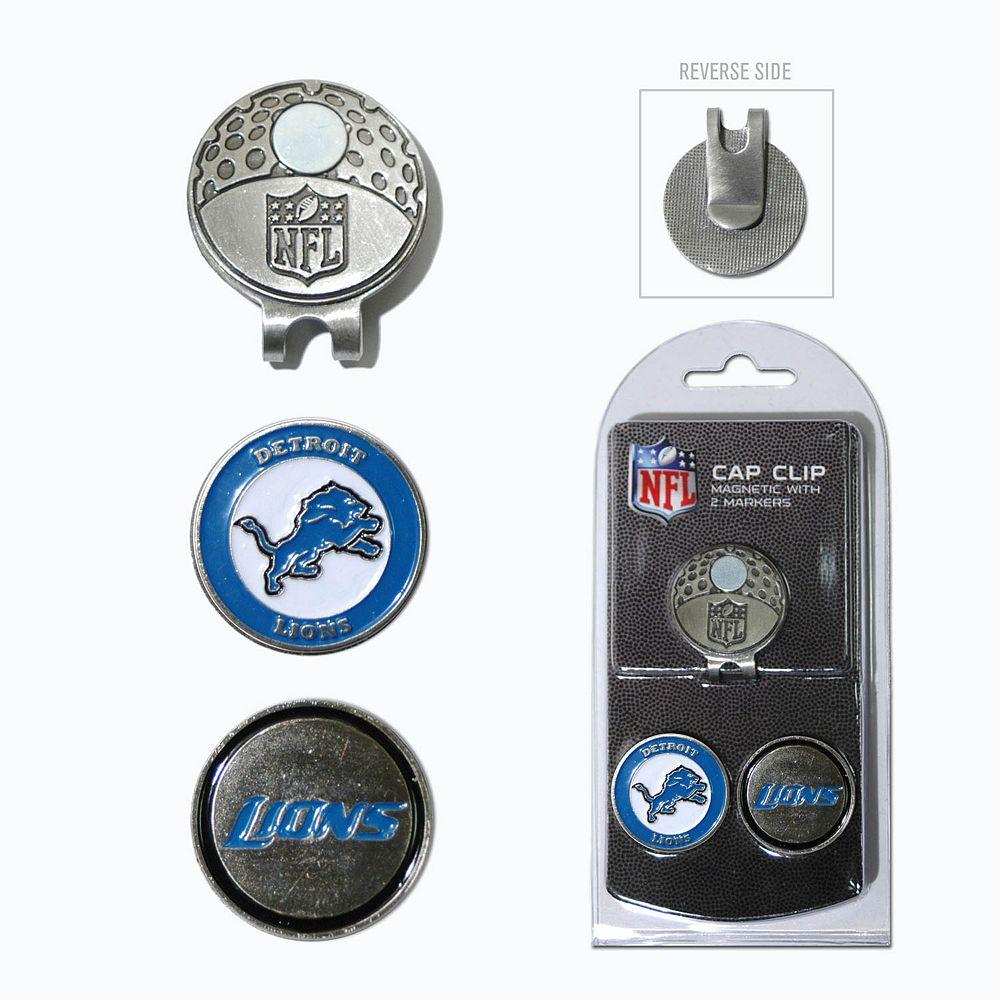 Team Golf Detroit Lions Cap Clip & Magnetic Ball Markers
