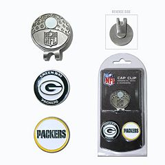 Team Golf Green Bay Packers Cap Clip & Magnetic Ball Markers