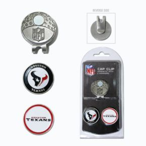 Team Golf Houston Texans Cap Clip & Magnetic Ball Markers