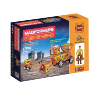 Magformers 37-pc. XL Cruisers Construction Set