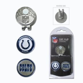 Team Golf Indianapolis Colts Cap Clip & Magnetic Ball Markers