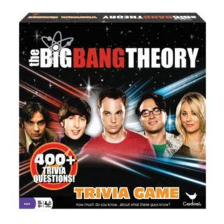 The Big Bang Theory Trivia Game by Cardinal