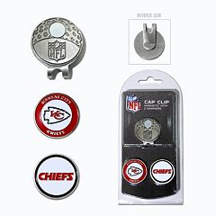 Team Golf Kansas City Chiefs Cap Clip & Magnetic Ball Markers