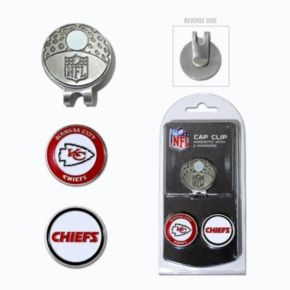 Team Golf Kansas City Chiefs Cap Clip & Magnetic Ball Markers
