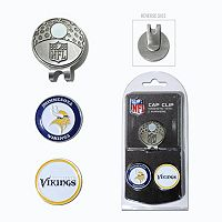Team Golf Minnesota Vikings Cap Clip & Magnetic Ball Markers