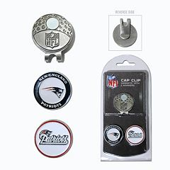 Team Golf New England Patriots Cap Clip & Magnetic Ball Markers