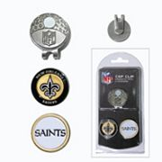 Team Golf New Orleans Saints Cap Clip & Magnetic Ball Markers