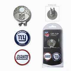 Team Golf New York Giants Cap Clip & Magnetic Ball Markers