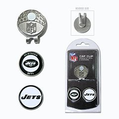 Team Golf New York Jets Cap Clip & Magnetic Ball Markers