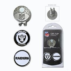 Team Golf Oakland Raiders Cap Clip & Magnetic Ball Markers