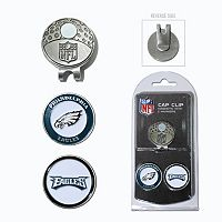 Team Golf Philadelphia Eagles Cap Clip & Magnetic Ball Markers