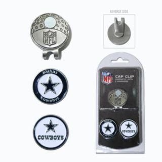 Team Golf Dallas Cowboys Cap Clip & Magnetic Ball Markers