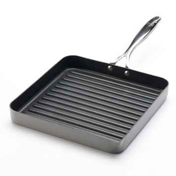Food Network™ 11-in. Hard-Anodized Nonstick Aluminum Grill Pan
