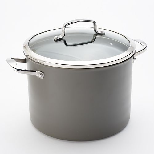 Food Network™ 10-qt. Hard-Anodized Nonstick Aluminum Stockpot