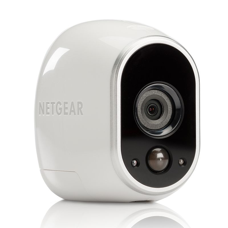Netgear Arlo Smart Home Indoor Outdoor Wireless HD Security Camera Set, White Monitor the security of your home from anywhere with this Netgear security camera set.Watch the product video here. Night vision with HD clarity allows for easy visibility. Customizable activity alerts lend convenience. Wireless design and magnetic mounts offer discreet placement. Real-time and motion-activated email alerts keep you informed. What's Included Wireless security camera Smart home base station Power adapter Ethernet cable 2 magnetic camera mounts 2 mounting screws 4 batteries Window decal Owner's manual Product Specifications Operating system: Windows, MAC, Apple iOS, Android Mobile OS support: Android Resolution: 1280 x 720 Wireless: WiFi 802.11 Indoor or outdoor use For information about the modified return policy, please click hereModel no. VMS3130-100NAS Size: One Size. Color: White. Gender: Unisex. Age Group: Adult.