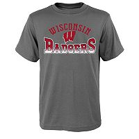Boys 8-20 Wisconsin Badgers Fade Tee