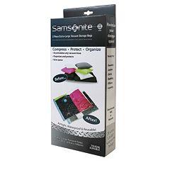 Samsonite XL Reusable Vacuum Storage Bags