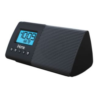 iHome Portable USB Charging Dual Alarm Clock Speaker System