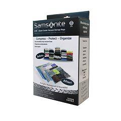 Samsonite 5 pc Reusable Vacuum Storage Bag Set