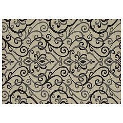 Loloi Francesca Scroll Floral Rug