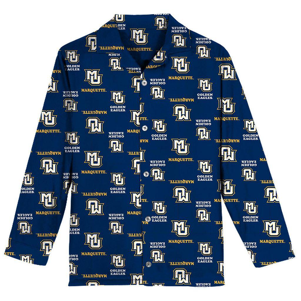 Boys 8-20 Marquette Golden Eagles Pajama Set