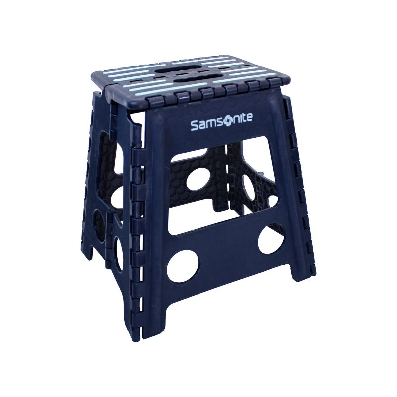 Samsonite Folding Step Stool Blue Household Projects
