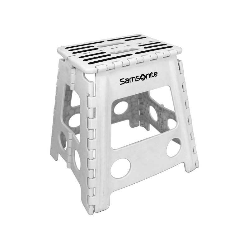 Samsonite Folding Step Stool Multicolor Household