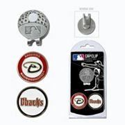 Team Golf Arizona Diamondbacks Cap Clip & Magnetic Ball Markers