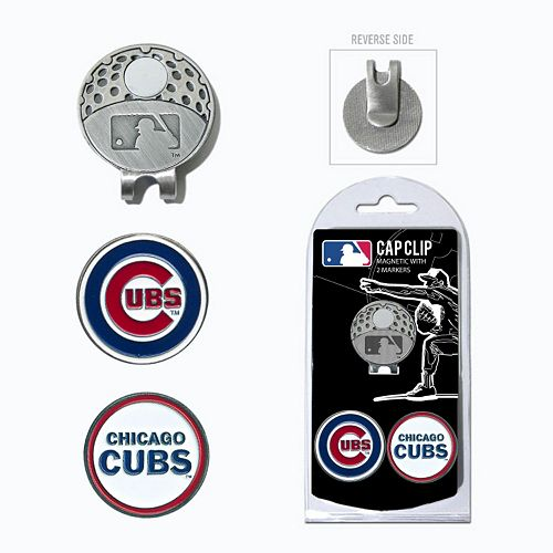 Team Golf Chicago Cubs Cap Clip & Magnetic Ball Markers