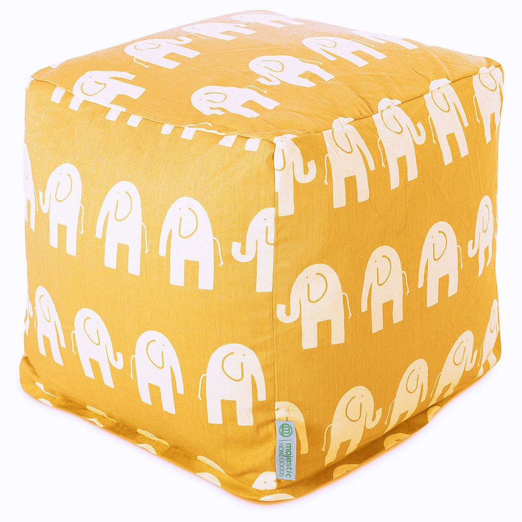 Majestic Home Goods Ellie Small Cube Ottoman