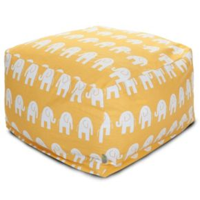 Majestic Home Goods Ellie Large Ottoman