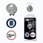 Team Golf Detroit Tigers Cap Clip & Magnetic Ball Markers