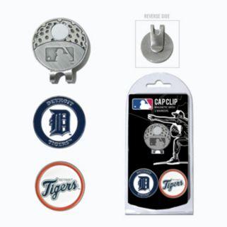 Team Golf Detroit Tigers Cap Clip & Magnetic Ball Markers