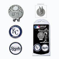 Team Golf Kansas City Royals Cap Clip & Magnetic Ball Markers