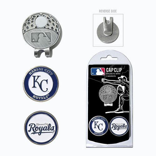 Team Golf Kansas City Royals Cap Clip & Magnetic Ball Markers