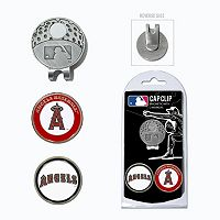 Team Golf Los Angeles Angels of Anaheim Cap Clip & Magnetic Ball Markers