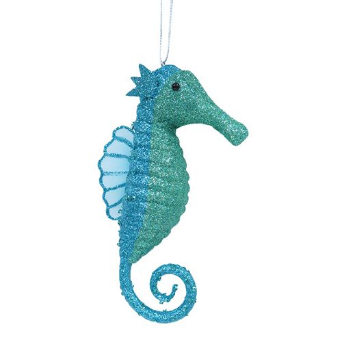 st nicholas square seahorse christmas ornament - Seahorse Christmas Ornament