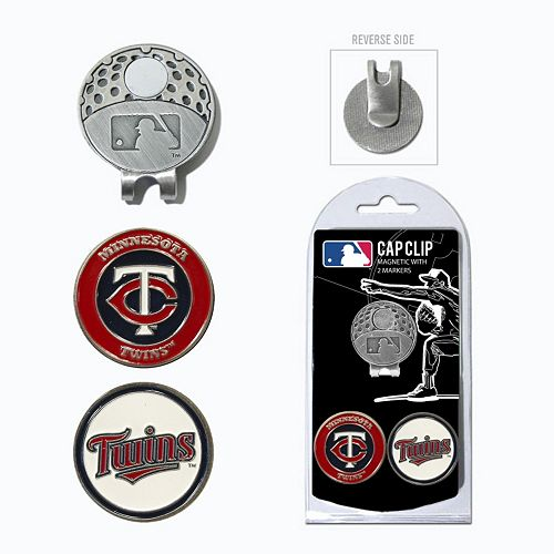Team Golf Minnesota Twins Cap Clip & Magnetic Ball Markers