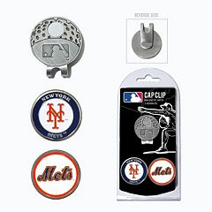 Team Golf New York Mets Cap Clip & Magnetic Ball Markers