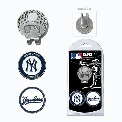 Team Golf New York Yankees Cap Clip & Magnetic Ball Markers