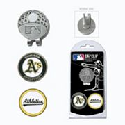 Team Golf Oakland Athletics Cap Clip & Magnetic Ball Markers