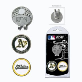 Team Golf Oakland Athletics Cap Clip & Magnetic Ball Markers