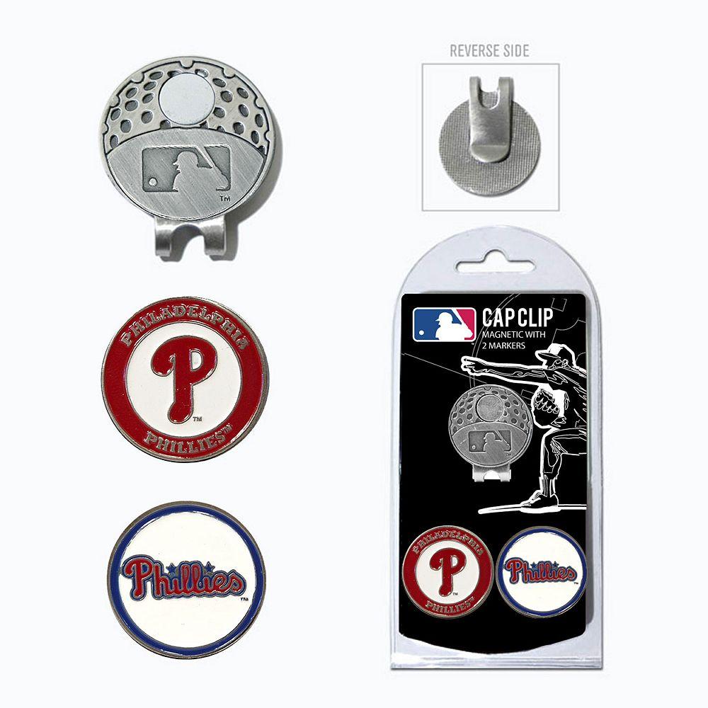 Team Golf Philadelphia Phillies Cap Clip & Magnetic Ball Markers