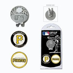 Team Golf Pittsburgh Pirates Cap Clip & Magnetic Ball Markers