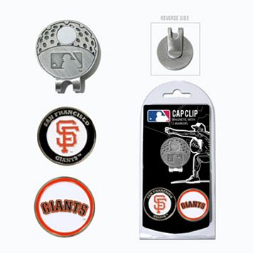 Team Golf San Francisco Giants Cap Clip & Magnetic Ball Markers