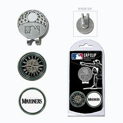 Team Golf Seattle Mariners Cap Clip & Magnetic Ball Markers