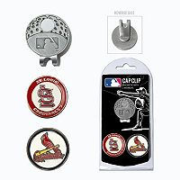 Team Golf St. Louis Cardinals Cap Clip & Magnetic Ball Markers