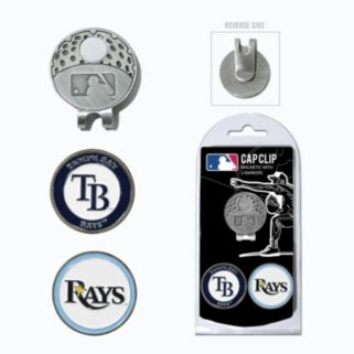 Team Golf Tampa Bay Rays Cap Clip & Magnetic Ball Markers