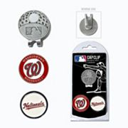 Team Golf Washington Nationals Cap Clip & Magnetic Ball Markers