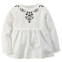 Girls 4-8 Carter's Embroidered Top